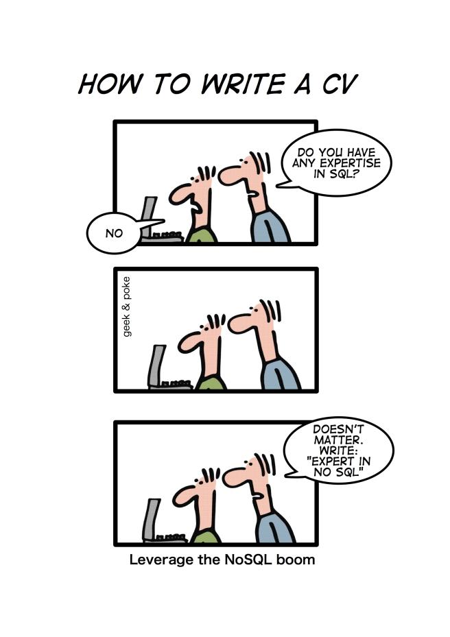 Origin of noSQL